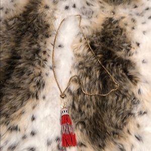 Stella & Dot Brio Tassel Necklace